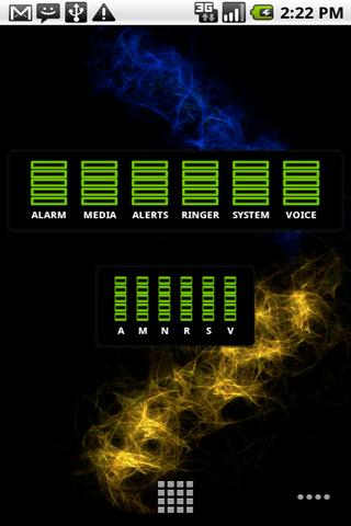am-skin-neon-green for android screenshot