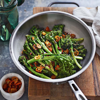 Broccolini with Sweet Peppers