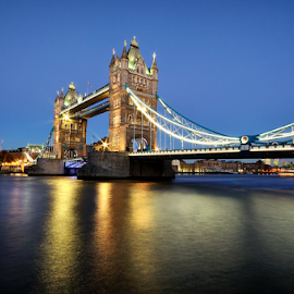 Tower Bridge by Nizam Akanjee - Buildings & Architecture Bridges & Suspended Structures ( london bridge, tower bridge )