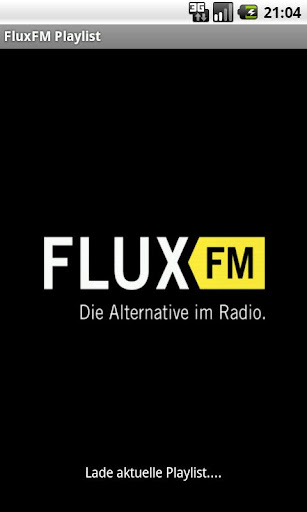 fluxfm-playlist-stream for android screenshot