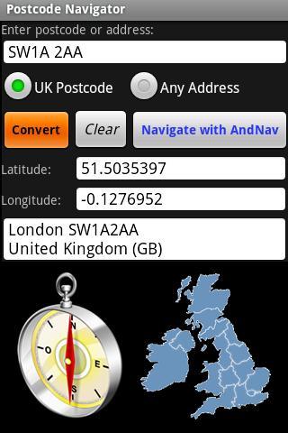 Postcode Navigator