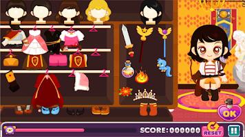 Screenshot of Judy's Fantasy Novel-Dress Up