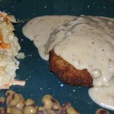 Chicken-Fried Steak for Two