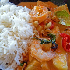 Thai Prawn And Pineapple Curry,