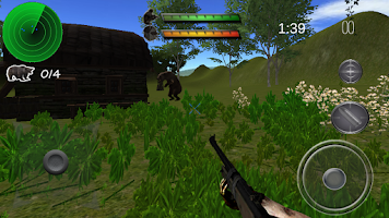 Screenshot of Jungle Survival Hunt 3D