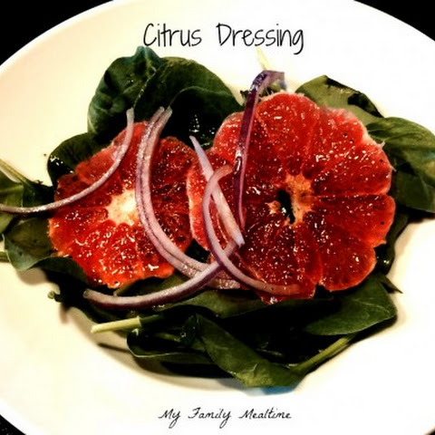 Clementine Citrus Dressing for Spinach Salad