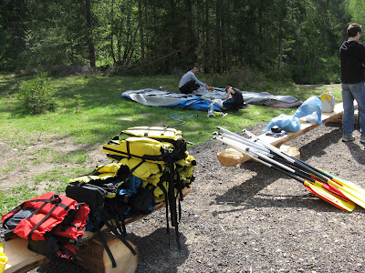 Rafting set up 01