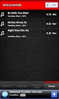 Screenshot of Ringtone Maker
