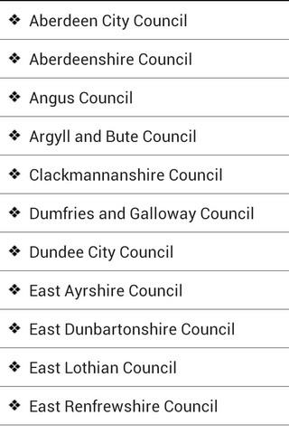 Scottish Councils