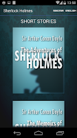 Screenshot of The Complete Sherlock Holmes