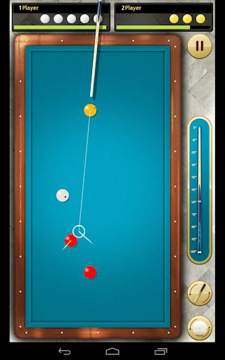 Billiards 3 ball 4 ball - screenshot