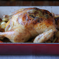 Lemon and Onion Roasted Chicken