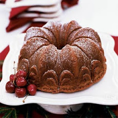 Chocolate-Earl Grey Pound Cake