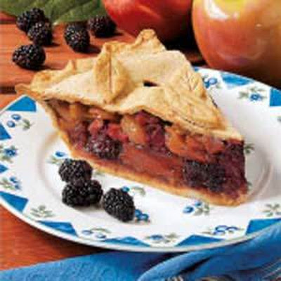 Apple Blackberry Pie
