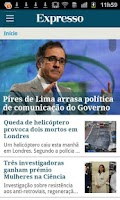 Screenshot of Expresso Online
