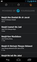 Screenshot of Malaysia Prayer Times