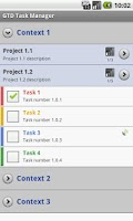 Screenshot of GTD Task Manager - Free