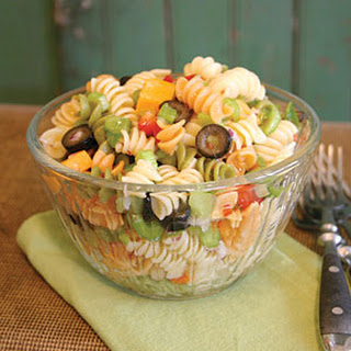 Rainbow Pasta Salad Recipes