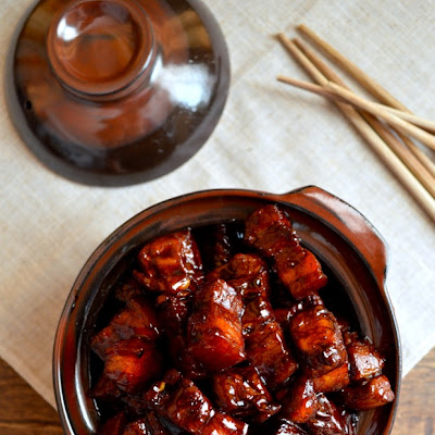SHANGHAI-STYLE BRAISED PORK BELLY (Hong Shao Rou)