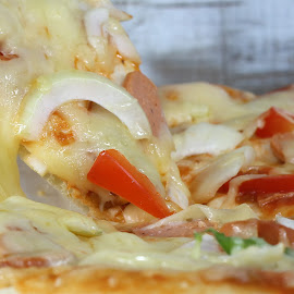 Pizza  by Tio Srie - Food & Drink Meats & Cheeses