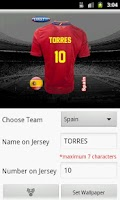 Screenshot of Make Euro Jersey