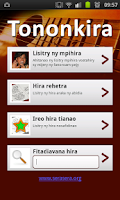 Screenshot of Tononkira Malagasy