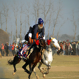 Portrait of bravery  by Rakesh Syal - News & Events Sports (  )