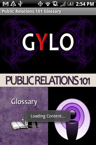 PR 101 Glossary