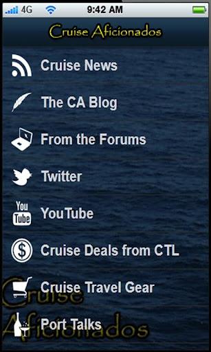 Cruise Aficionados