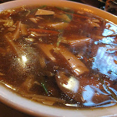 Spicy Hot and Sour Soup With Pork