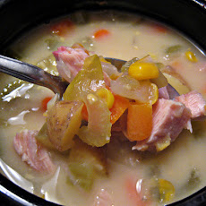 Smoked Turkey And Corn Chowder
