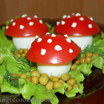 Egg Mushrooms