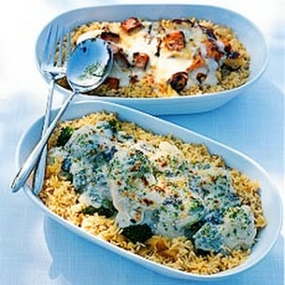 Roasted Vegetable and Brown Rice Gratin
