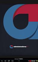 Screenshot of Revista Administradores