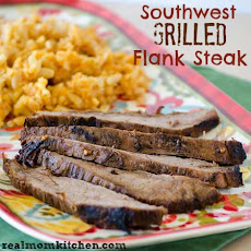 Southwest Grilled Flank Steak
