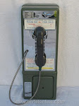 Single Slot Payphones - NOS NYT Green touch tone loc B-3