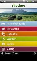Screenshot of South Tyrol/Südtirol Guide