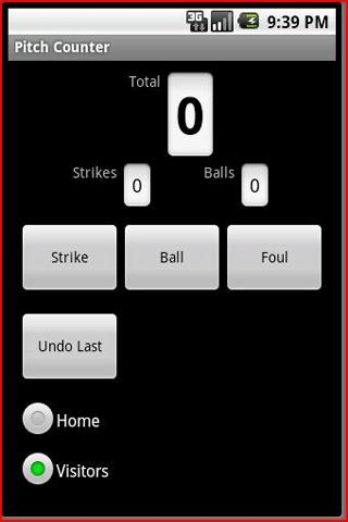 Pitch Counter
