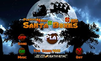Screenshot of Playito4Kids: Santa Boxes FREE