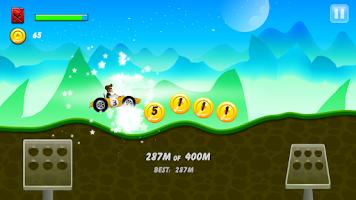 Screenshot of Hill Racing: mountain climb