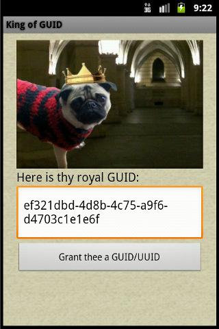免費下載工具APP|King of GUID - UUID Generator app開箱文|APP開箱王