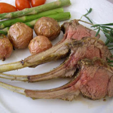 Herb-Crusted Rack of Lamb