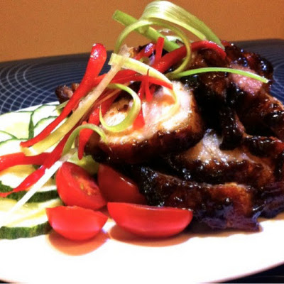 Pan Roasted Char Siew ( Chinese Barbecue Pork )