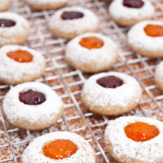 Nutty Jam Thumbprints