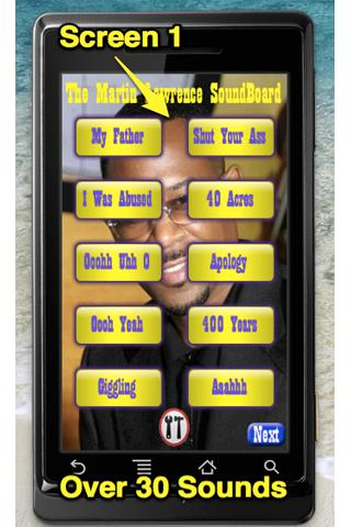 Martin Lawrence Sound Board