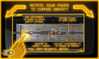 Screenshot of GRAVITY SPHERE 3D beta