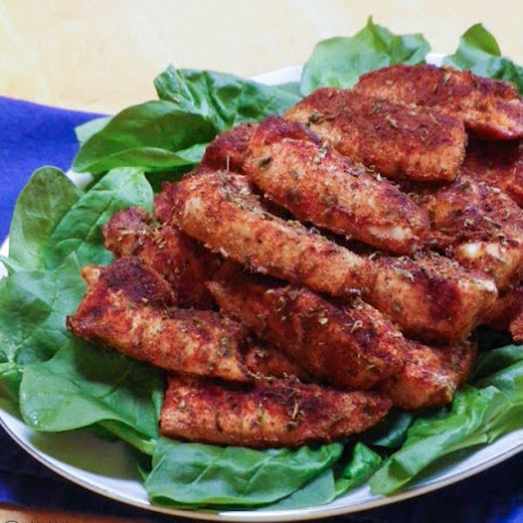 Skinny Ranch Chicken Tenders Recipe — Dishmaps