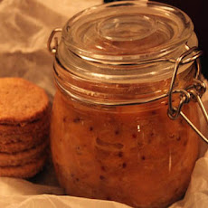 Orange Chutney And Oatcakes