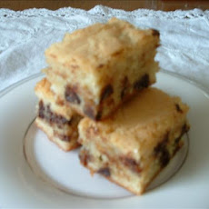 Rich White Chocolate Blondies