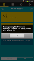 Screenshot of Optus Recharge Now
